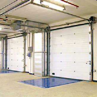 Секционные ворота ISD01